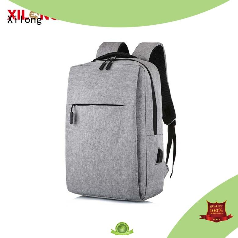 Xilong charging custom laptop bag business for business trip