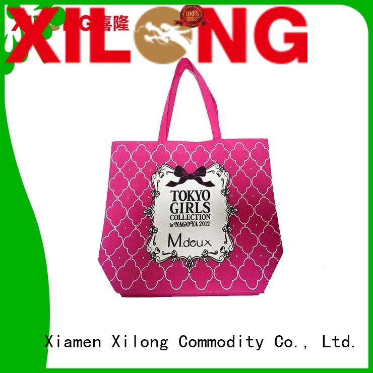 Xilong Best waterproof shopping bag factory