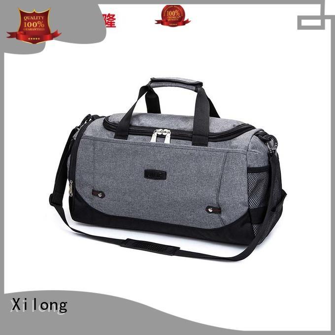 Xilong nylon gym duffle bag factory for sport
