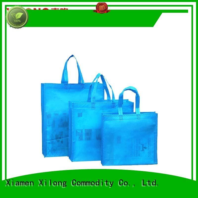Xilong non eco shopper bags free sample for students