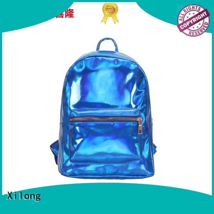 Xilong personalized school backpack manufacturers china favorable price for high school