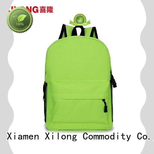Xilong Latest custom school bag factory