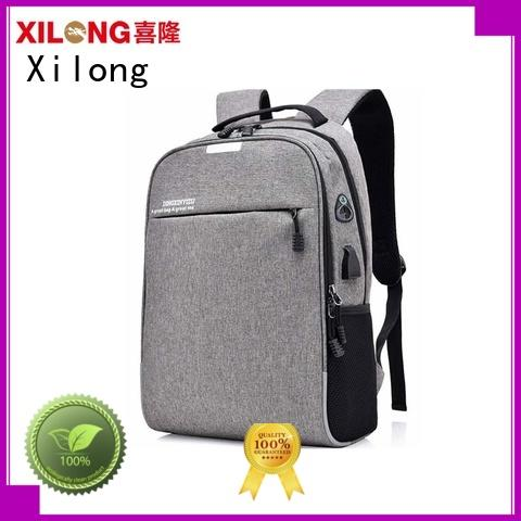 Xilong anti-theft large laptop backpack backpack for business trip