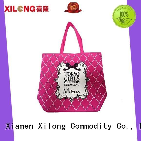 shopping nylon shopping bags for students Xilong