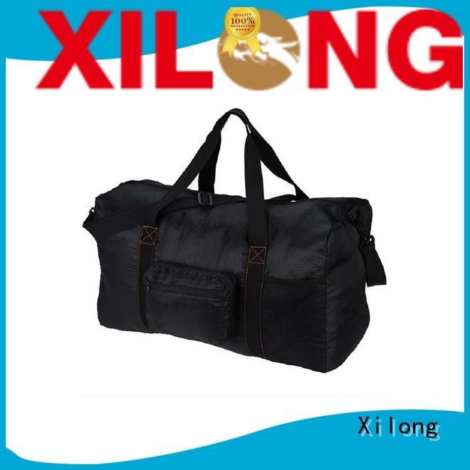 Xilong sport custom duffel bags logo sport