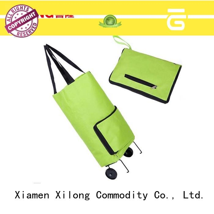 Xilong trolley trendy shopping trolley for wholesale for ladies