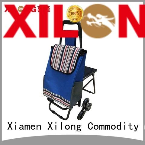 foldable folding shopping trolley bag trolley for wholesale for ladies