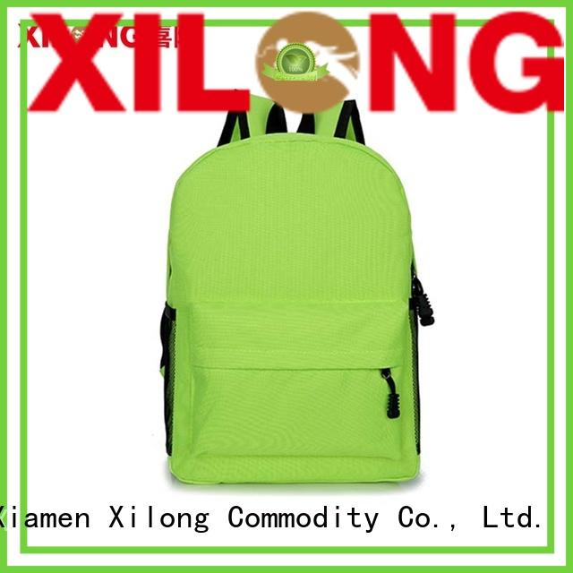 Xilong bag childrens personalized backpacks favorable price for students