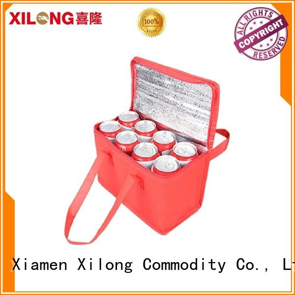 food custom insulated tote bags tote for shopping Xilong