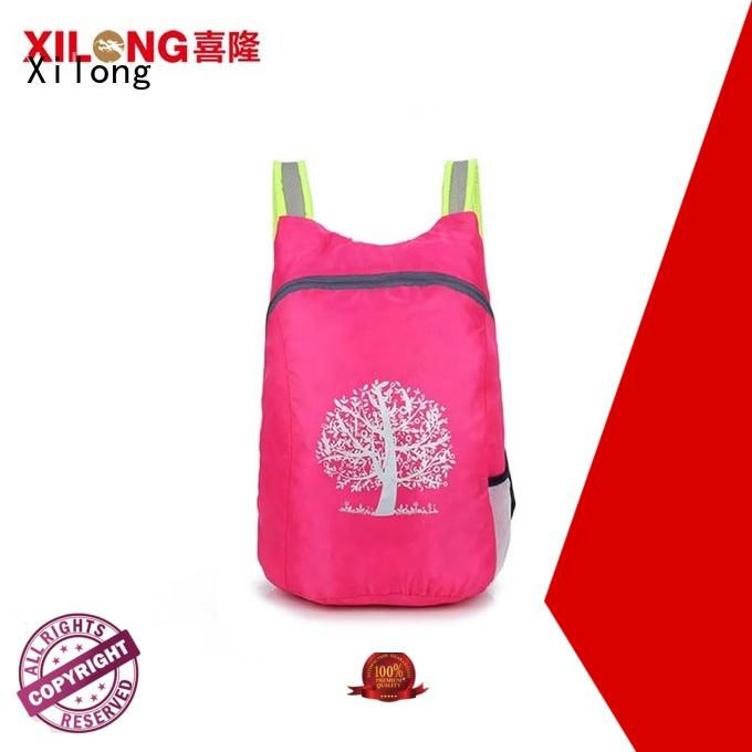 Wholesale travel fold away backpack Supply