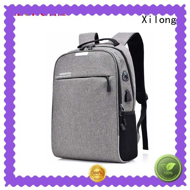 Xilong customized trendy laptop backpacks laptop for travel