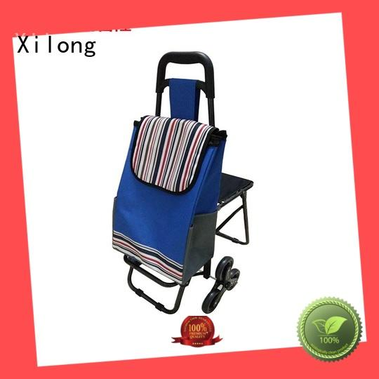 bag portable shopping trolley bag laminated for women Xilong