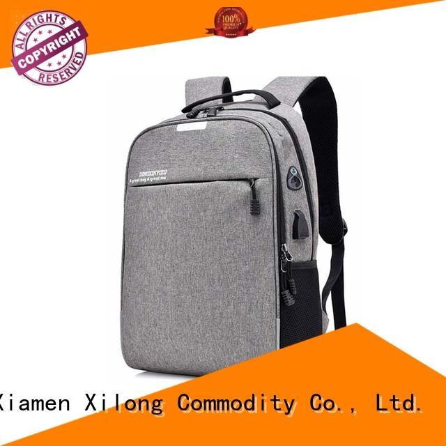 anti-theft small laptop backpack charger business for travel
