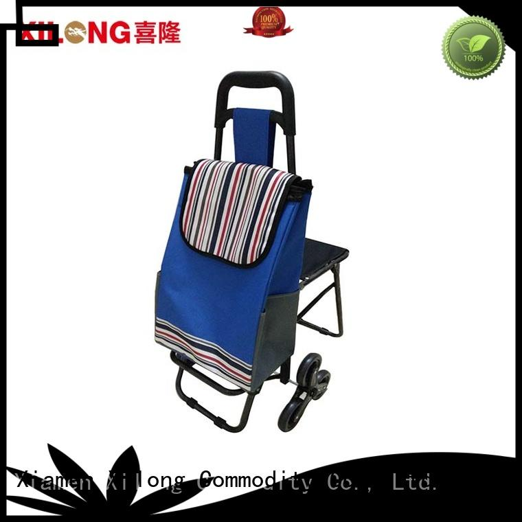 wheels personalised tote shopping bags market for travel Xilong