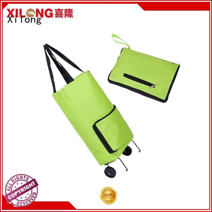 Xilong odm personalised tote shopping bags laminated for travel