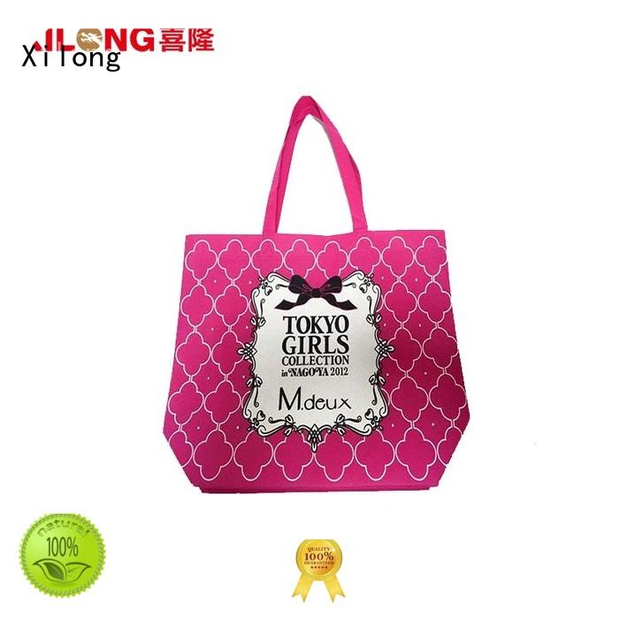 Xilong Christmas custom shopping bags wholesale factory price for students