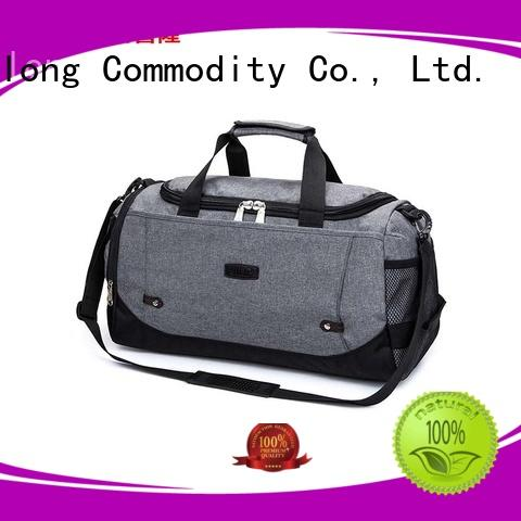 casual custom printed duffel bags logo factory price for travel