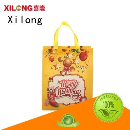Xilong bulk production personalized shopping bags wholesale free sample