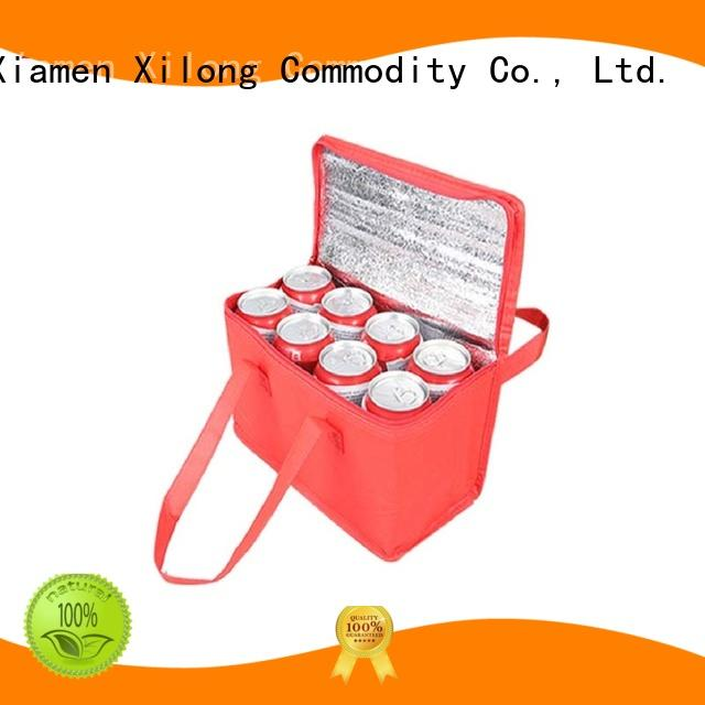 Xilong aluminium custom made cooler bags tote