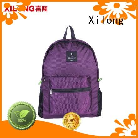 Xilong day cheap custom backpacks reasonable price for travel