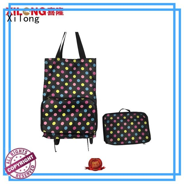 odm folding shopping trolley bag bags laminated for women