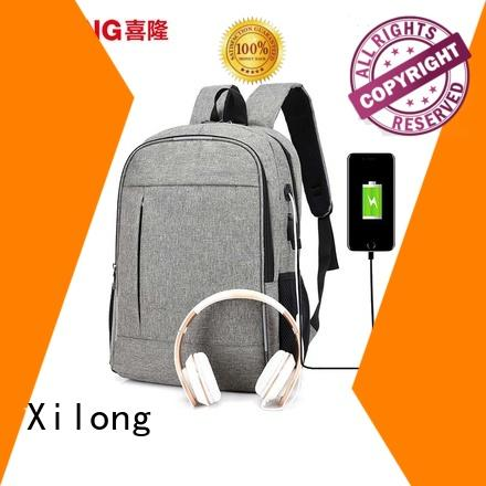 Xilong customized laptop backpack for men light for computer