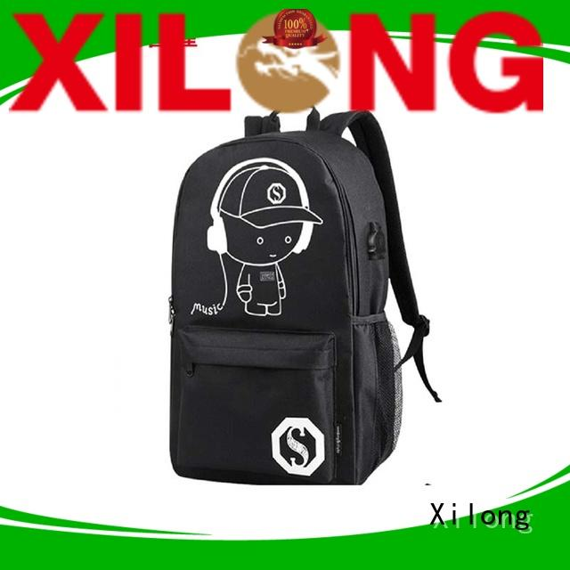Xilong custom customised school bags custom