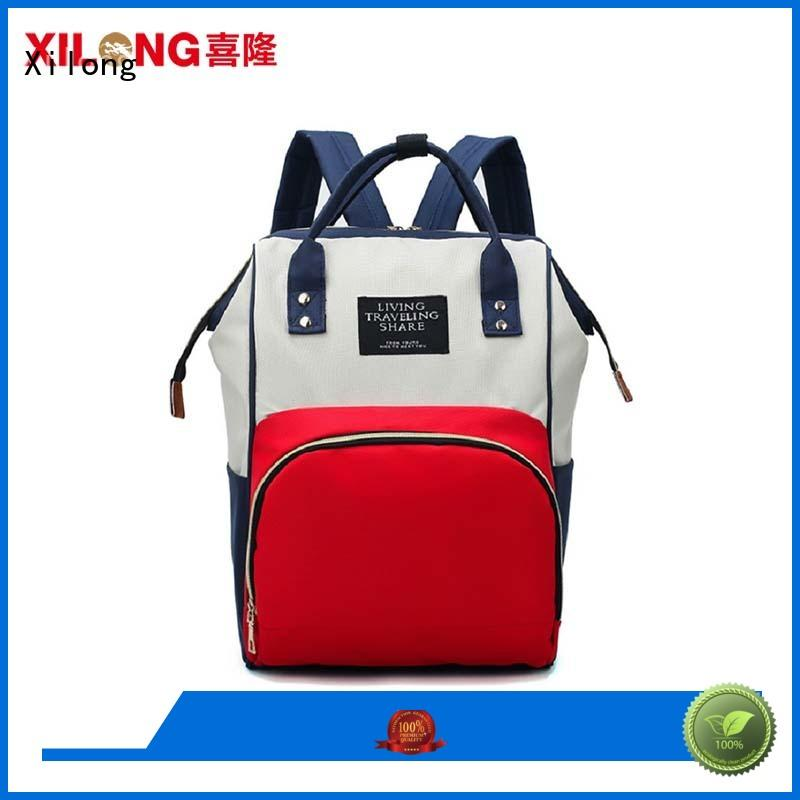 Large capacity mummy baby backpack diaper bag