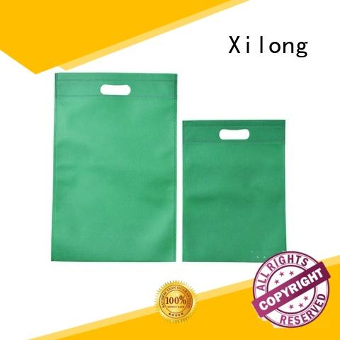 Xilong tote fabric shopping bag factory price for students
