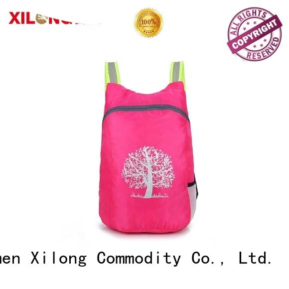 Xilong foldable foldable backpack best quality for boys