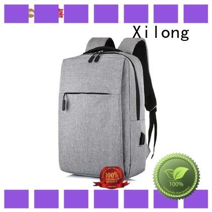 Xilong trendy laptop backpacks factory