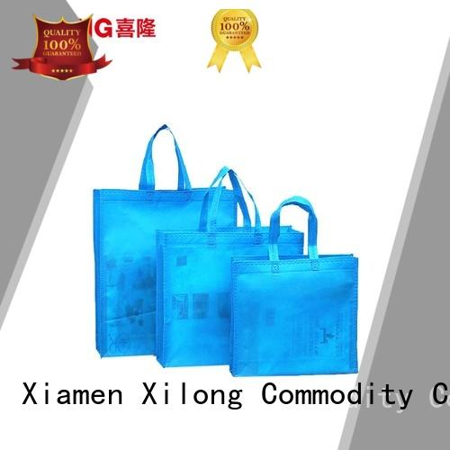 Xilong cut big shopper bags manufacturers free sample for trip