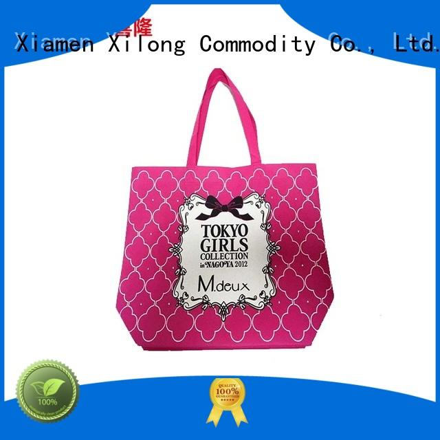 Xilong eco custom shopping bags wholesale seal for students