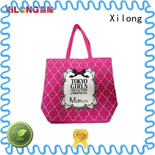 Xilong packing ladies shopping bag for travel