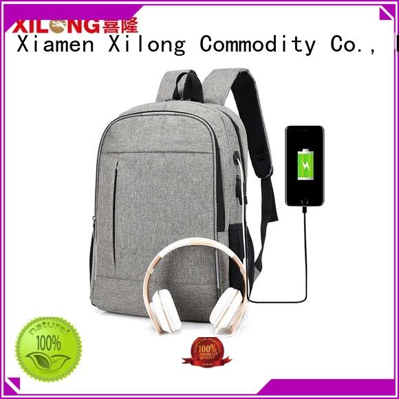 Anti-theft USB charging business stylish laptop backpack waterproof