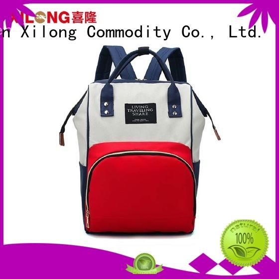 Xilong universal small diaper backpack diaper for students
