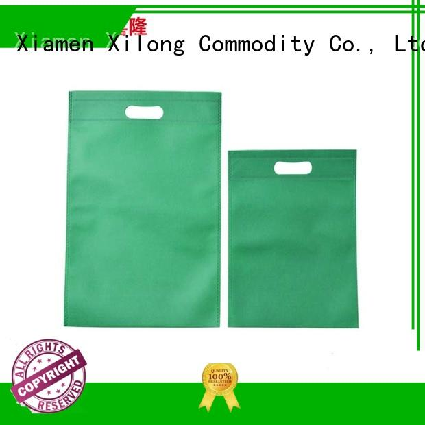 Xilong bulk production custom design shopping bags free sample for students