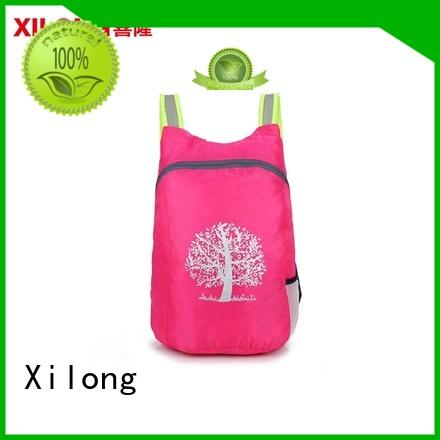Xilong small folding backpacks reasonable price for tour