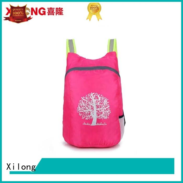 Xilong small backpack factory reasonable price