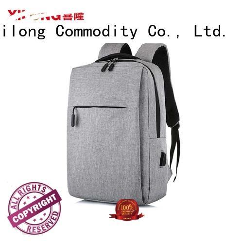 charging custom logo laptop backpack business for travel