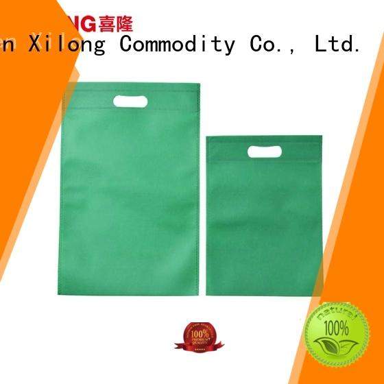 Xilong packing trendy shopping bags free sample for travel