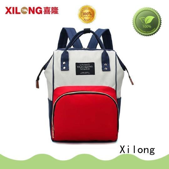 Xilong mummy backpack purse diaper bag diaper for packing