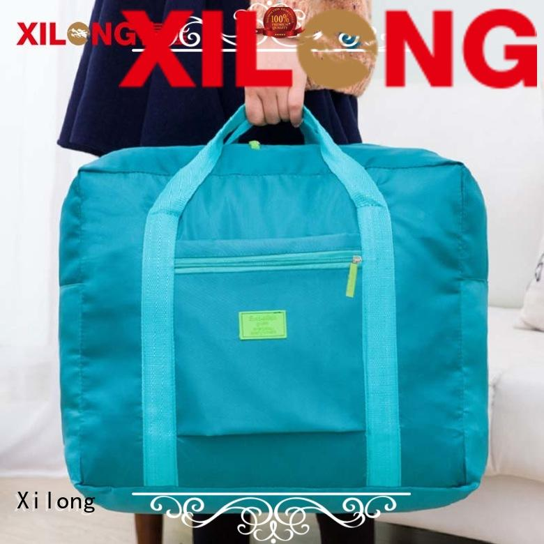 Xilong traveling custom football duffle bags for wholesale for travel