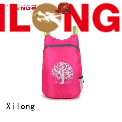smart fold open backpack reasonable price for boys Xilong
