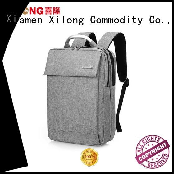 Xilong stylish top laptop backpacks fashion for computer