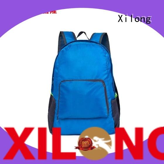 Xilong backpack foldable waterproof backpack best quality