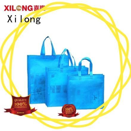 Xilong shopper personalized shopping bags wholesale