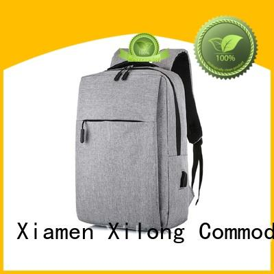 Xilong charging laptop backpack companies fashion for business trip