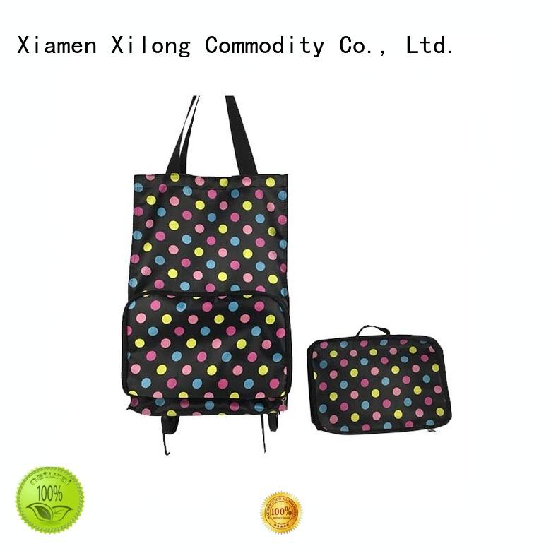 small shopping bag on wheels folding Xilong