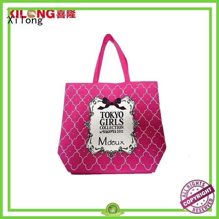 Handled  non woven bag  custom shopping bags
